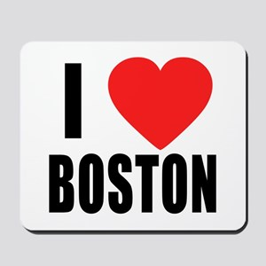 I HEART BOSTON Mousepad